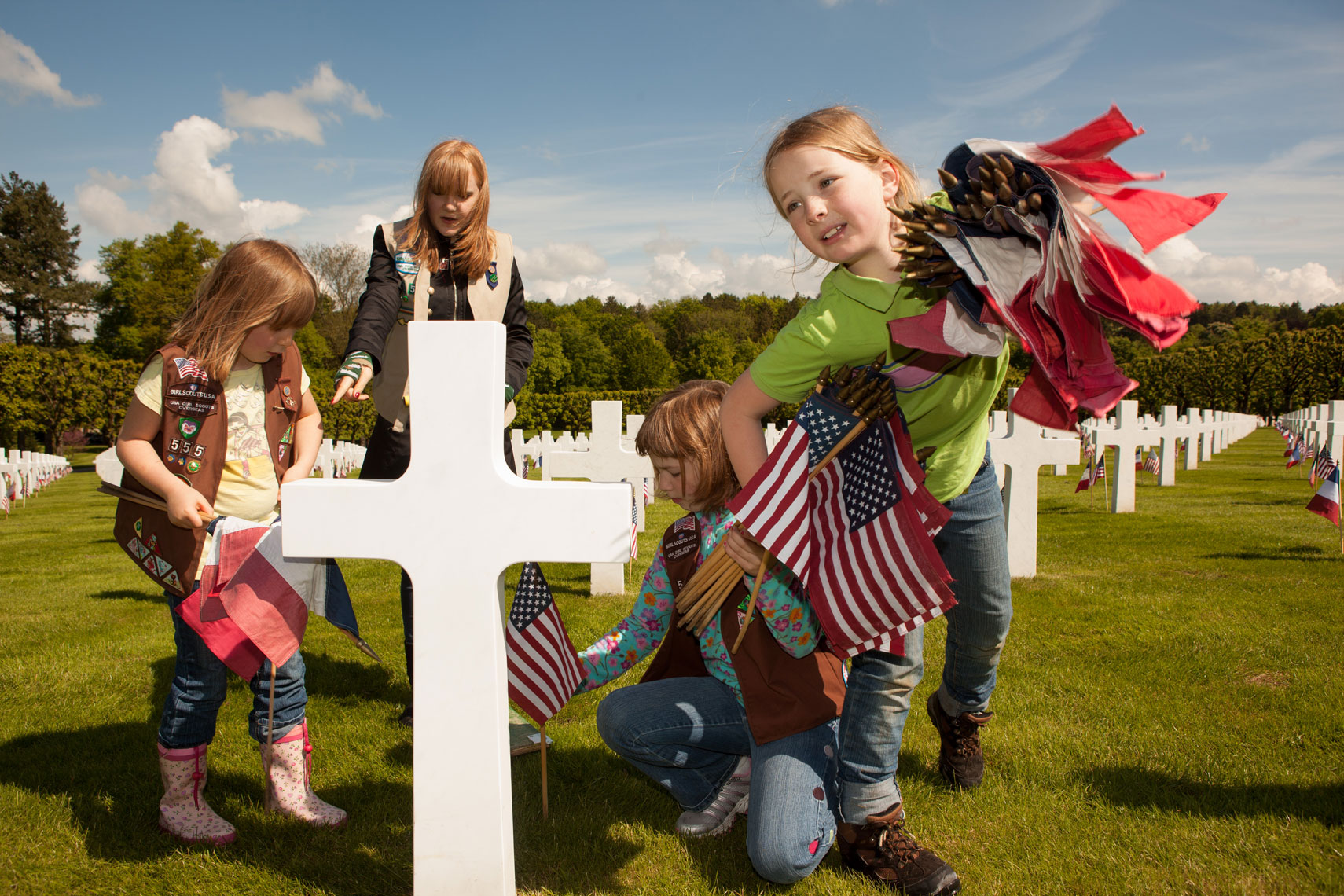 21_Kris_Davidson_National_Geographic_Meuse_France_Meuse_Argonne_American_Cemetery_Girl_Scouts_WWI